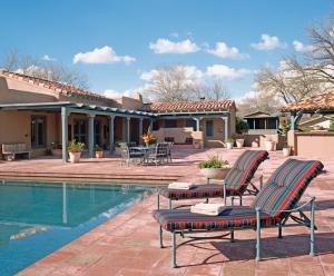 The McCain's home in Phoenix