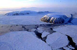 Why Everyone in Alaska Has Foreign Policy Experience. Big Diomede, Russia (left), and Little Diomede, Alaska (right).