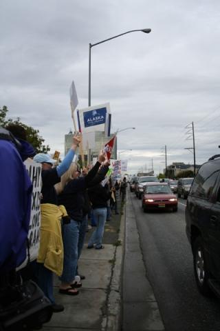 Alaska Women Reject Palin' Rally is HUGE! | Mudflats