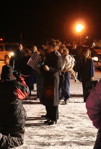 Gov. Sarah Palin & Meg Stapleton to her right.
